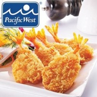 Pacific West Breaded Butterfly Prawns-1x500g