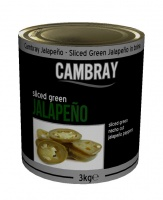 Sliced Jalapenos - A10 large catering tin