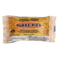 Pukka Wrapped Cheese and Onion Pasty x 1