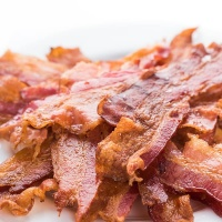 Cooked Streaky Bacon - 500g pack