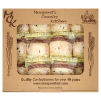 Margaret Hall Eccles Cakes - 12 x wrapped
