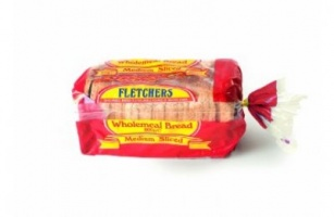 Fletchers Medium Sliced Wholemeal Sandwich Bread (Frozen) - 800g