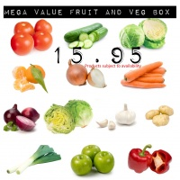 Mega Value Fruit and Veg Box - 16 Products Minimum