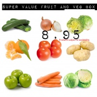 Super Value Vegetable Box - 9 Items