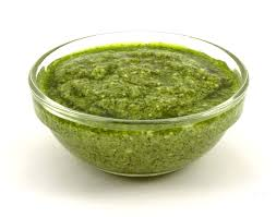 Green Pesto with no nuts - 1kg tub