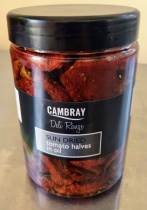 Premium Cambray Sun Dried Tomatoes in Oil - 1kg tub