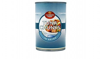 Tuna Chunks in Brine - 1 x 400gm tin