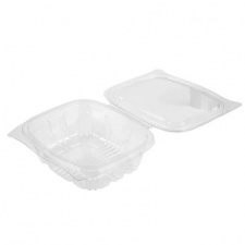 Hinged Salad Containers - 330 x 375ml