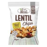 Eat Real Lentil Chilli and Lemon - 12 x 40g pack