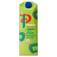 Princes Orange Juice - 12 x 1 litre cartons