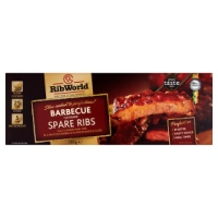 Cooked BBQ Pork Ribs - 500g pack