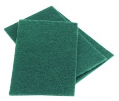 Green Scourer Pads - 10 pack