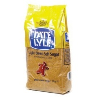 Tate and Lyle Soft Brown Suger - 3kg bag
