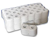 Jumbo Pack of 2 Ply Toilet Rolls -  32 Rolls