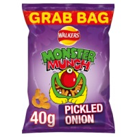Monster Munch Pickled Onion - 30 x 40gm Grab Bags