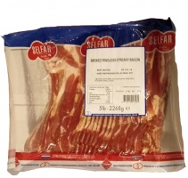 Selfar Streaky Bacon - 2.27kg packet