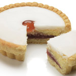 Extra Large Wrapped Cherry Bakewell Tarts - 6 wrapped