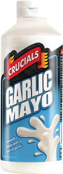 Garlic Mayo - 1 litre squeezy