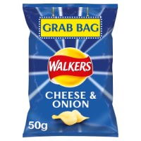 Walkers Cheese and Onion Crisps - Grab Bags