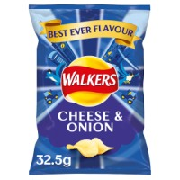 Walkers Cheese and Onion Crisps  - 32 x 35g